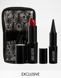 Lord And Berry Asos Exclusive Black Red Eye And Lip Duo Save 32 Free Make Up Bag Blackred