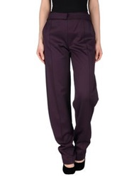 Uniqueness Casual Pants Deep Purple