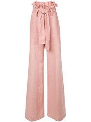 Alexis Sweeney Trousers Pink