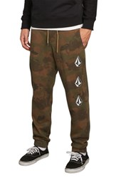 Volcom Deadly Stones Jogger Pants Camouflage