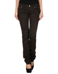 Koo J Casual Pants Dark Brown