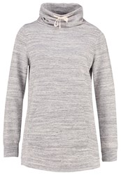 Gap Sweatshirt Space Dye Grey Marl
