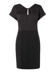 Therapy Cece Keyhole Back Detail Dress Black
