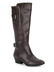 Sofft Palleteri Leather Boots Shadow