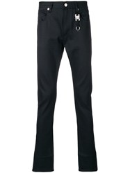 Alyx Slim Fit Keychain Jeans Black
