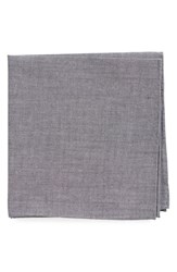 Men's Todd Snyder White Label Chambray Cotton Pocket Square