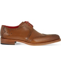 Jeffery West Bay Derby Shoes Tan
