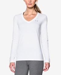 Under Armour Ua Tech Long Sleeve Top White