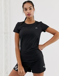 Only Play Short Sleeve Running T Shirt In Black