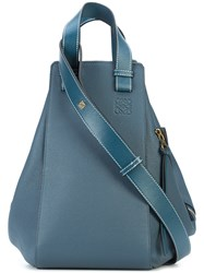 Loewe Hammock Bag Calf Leather Blue