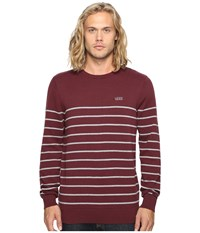 Vans Livingston Port Royale Concrete Heather Men's Clothing Brown
