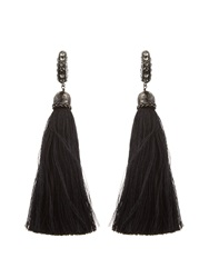 Lanvin Marina Swarovski Embellished Earrings
