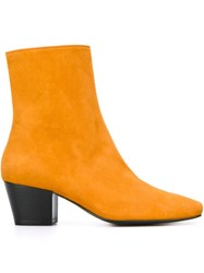 Dorateymur 'Droop Nose' Boots Yellow And Orange