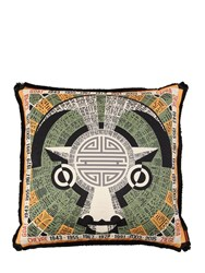 Missoni Goat Horoscope Cotton Pillow Multicolor