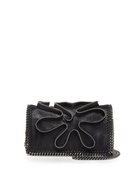 Stella Mccartney Falabella Zipper Crossbody Bag Black