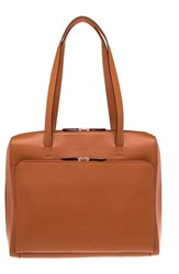 Lodis Audrey Under Lock And Key Organizer Tote Brown Toffee