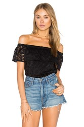 Eight Sixty Off The Shoulder Top Black