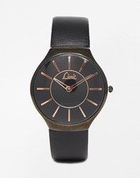 Limit Minimal Watch In Black Black