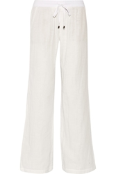 Splendid Cotton Gauze Wide Leg Pants