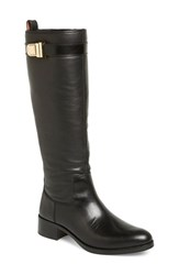 Women's Louise Et Cie 'Yvon' Tall Boot Black Leather