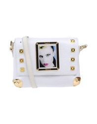 Piero Guidi Handbags White