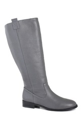 San Jacinto Lone Star Extra Wide Calf Riding Boot Wide Width Available Gray