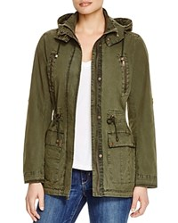Levi's Hooded Military Style Anorak Army