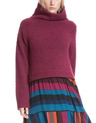 Plenty By Tracy Reese Slouchy Turtleneck Sweater Framboise