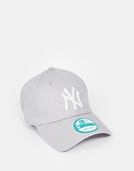 New Era 9Forty Ny Adjustable Cap Grey