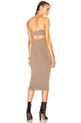 Alexander Wang T By Modal Spandex Strappy Cami Dress In Neutrals