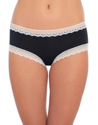 Design Lab Lord And Taylor Lace Trim Hipster Anthracite
