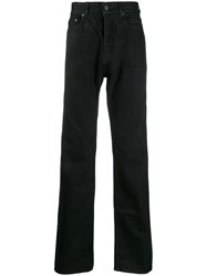 Rick Owens Drkshdw Relaxed Cotton Jeans Black