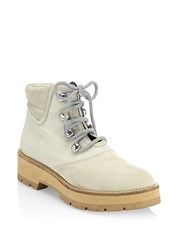 3.1 Phillip Lim Dylan Lace Up Hiking Boots Natural
