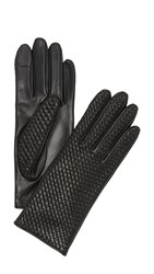 Agnelle Chletresse Texting Gloves Black