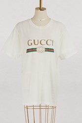Gucci Logo T Shirt White