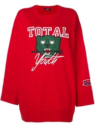 Undercover Total Youth Sweatshirt Red