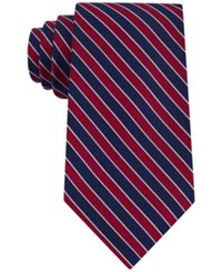 Club Room Men's Classic Diagonally Striped Tie Only At Macy's