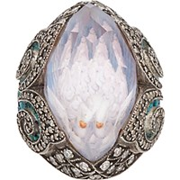 Sevan Bicakci Women's Multi Gemstone Gold And Silver Swan Intaglio Ring No Color