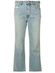 Simon Miller Largo Cropped Jeans Blue