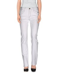 Carlo Chionna Trousers Casual Trousers Women White