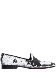 Etro Double Face Sequins Loafers