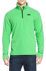 Men's Helly Hansen 'Daybreaker' Half Zip Fleece Jacket Paris Green
