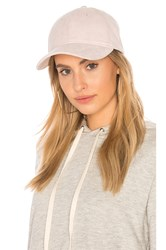 Michael Stars Don't Be Suede Baseball Cap Pink