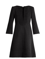 Isabel Marant Palmi Linen Dress Black