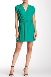 Eight Sixty Popover Dress Green