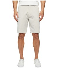 Dockers Perfect Short Classic Fit Flat Front Oliver A Good New British Khaki Men's Shorts White