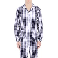 Sleepy Jones Marcel Pajama Shirt Navy