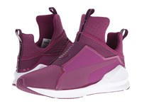 Puma Fierce Quilted Magenta Purple White Women's Shoes