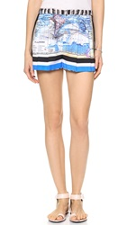 Clover Canyon Ancient World Map Shorts Multi