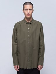 Publish Xander 12 Button Raw Edge Shirt